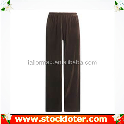 Inventory clothing ladies velvet pants sports pants stock , #130612b