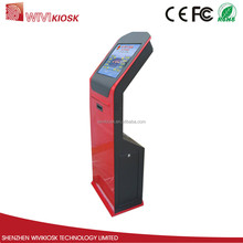 Touch Screen Kiosk with Queue Management System LED Display