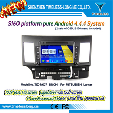 s160 Android 4.4 Capacitive Screen Car DVD FOR MITSUBISHI lancer With GPS Radio