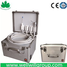Factory Price Portable Dental Unit With Air Compressor WWG-MP02