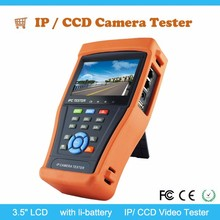 "IP/CCD camera tester, 3.5"" LCD color screen"