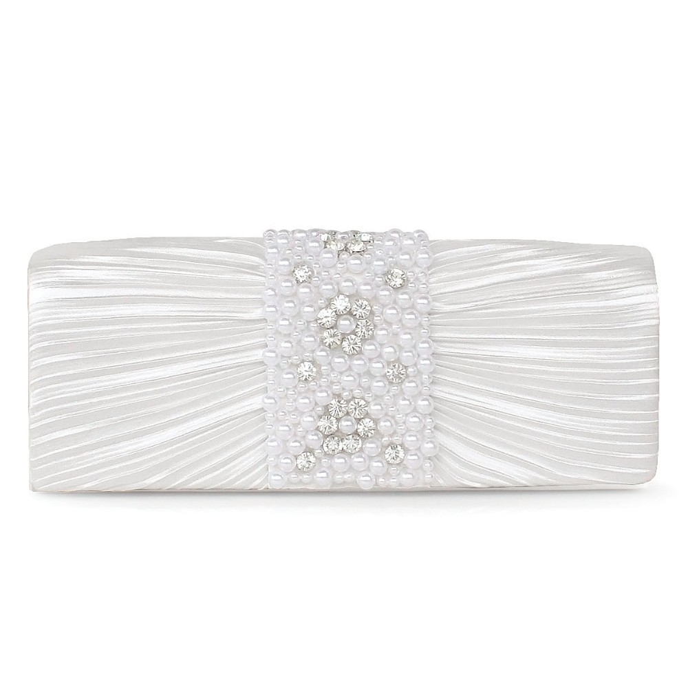 New Fashion Women Evening Bag Beading Clutch Purse for Girls