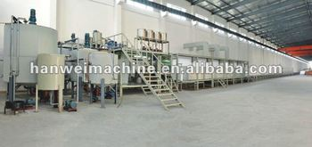 Automatic horizontal continuous foming machine