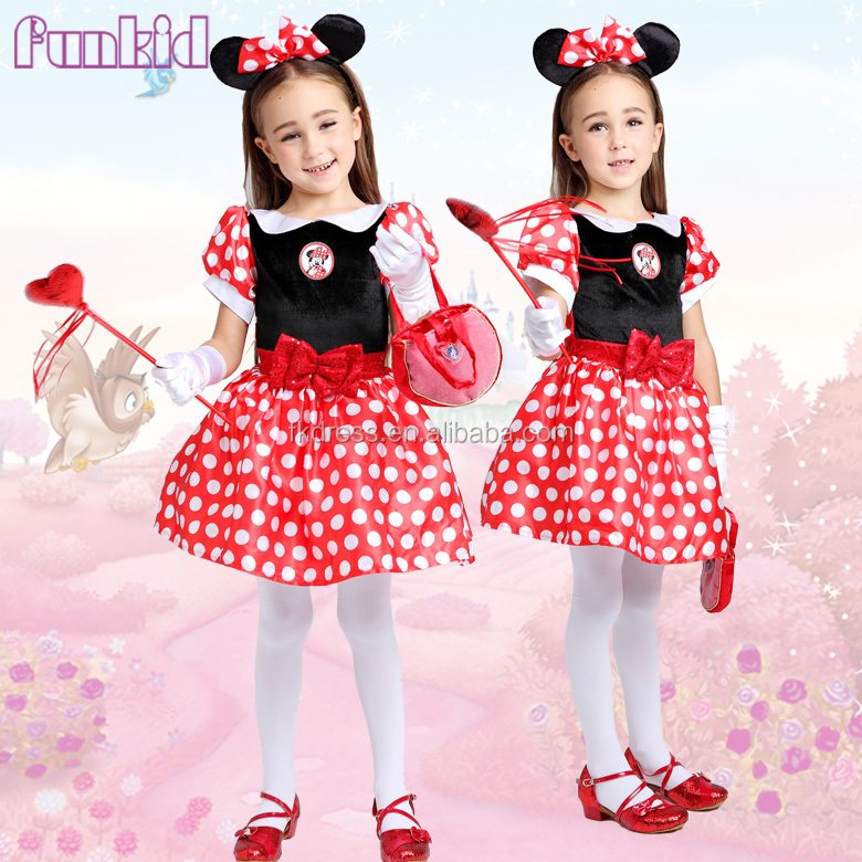 Online Wholesale baby kids minnie party dress clothing from china