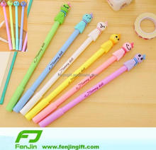 China factory Manufacture custom make rubber pvc pen/pencil topper