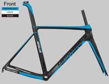 2016 LightCarbon Best Superlight carbon fiber road bicycle frame aero road frame LCR004-V