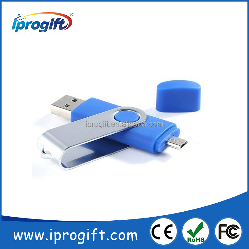 Promotional USB 2.0 custom logo high quality OTG usb flash drive for phone