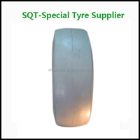 23*10-12 small solid rubber tires and wheels