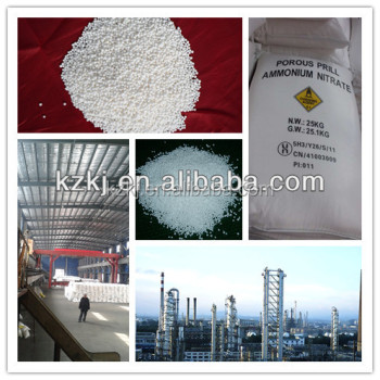 34% Water Soluble Ammonium Nitrogen Fertilizer NH4NO3