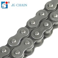 DIN simplex transmission short pitch carbon 40 roller chain