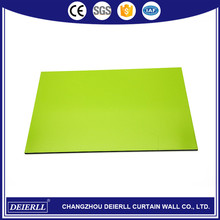 Hot selling high quality pvdf aluminum composite panel outdoor use wall cladding/marble finish with comp