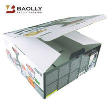 2016 Custom size recycle strong plain corrugated cardboard boxes packaging wholesale