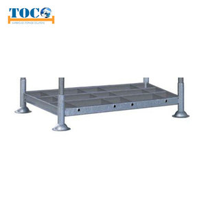 Customized size metal folding stacking rack for tool rack