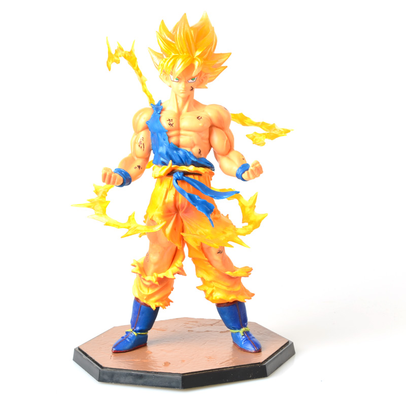 Custom make wholesale Japanese anime dragonball z toys action figure