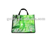 2012 recycled shopping handle bags,pp woven tote bags,photo printed pp woven shopper bags