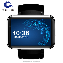 Dm98 2.2 Inch Screen Alloy Body Wifi 3g Android Smart Watch Phone With Phone Call