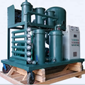 Vacuum Turbine Oil Filtration Apparatus Lube oil Reclamation Equipment