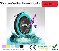 Water Resistant Bluetooth 3.0 Shower Speaker, Handsfree Portable Speakerphone with Built-in Mic, Control Buttons and Dedicated