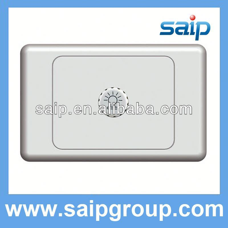 Australia standard switch led wall dimmer switch