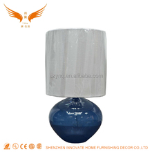 European glass base table lamp desk lamp with good quality