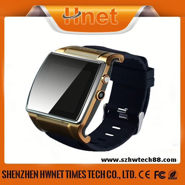 HOT SELLING Waterproof Android Smart Watch, Full Stainless Steel Digital LED Watch watch phone dual sim 3g