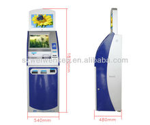 hospital queue bill payment information kiosk with touch screen ,query and printer kiosk