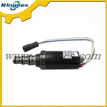 China factory wholesale excavator electric parts stop solenoid valve for Caterpillar CAT315D