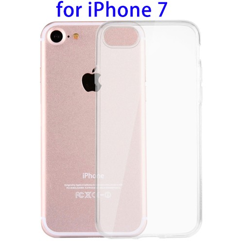 New Arrival Lightweight Transparent Soft TPU Protective Case for iPhone 7, for iPhone 7 Case