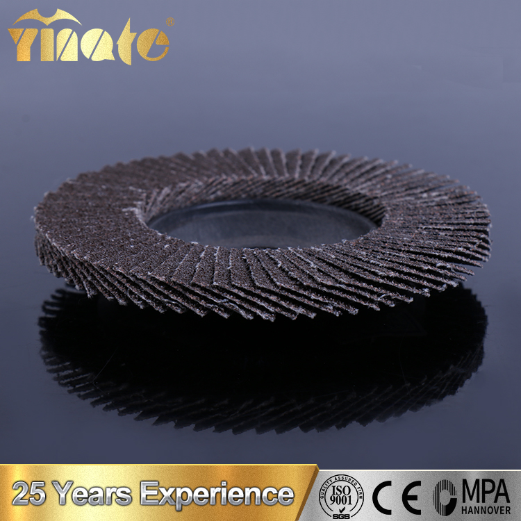T27 T29 Aluminium Oxide Abrasive Flap Disc For Stainless Steel