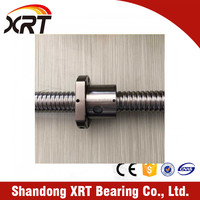 TBI 16mm Diameter 5mm Pitch SFU1605 Ball Screw SFU1605-800mm With Support Unit FF12 FK12