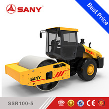 Sany SSR100-5 SSR Series 10ton Pneumatic Tire Hydraulic Road Roller compactor Double Drum Roller