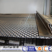 high quality barbecue wire mesh/mine screen crimped wire mesh(factory,since 1989)