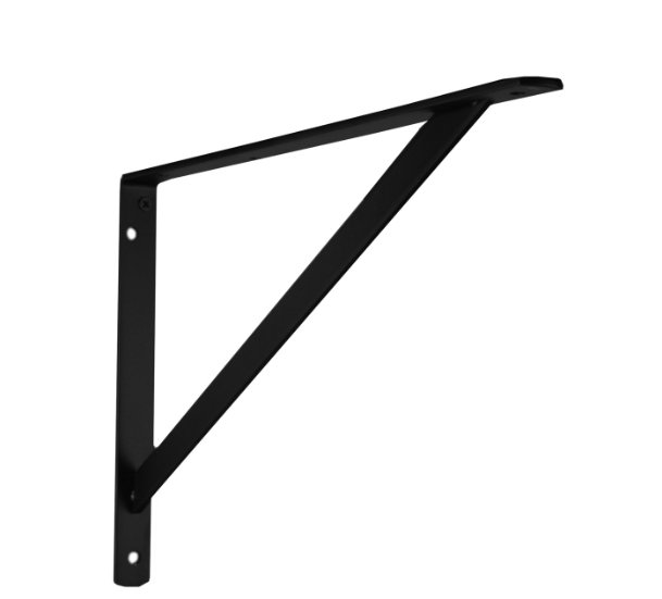 Black Heavy Duty Shelf bracket