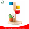 Beautiful Hamster Toys Nest House cage Villa s Wood colorful ladder Small Pet Wooden Supplies