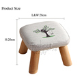 Wholesale new design shoe stool cheap shoe fitting stool