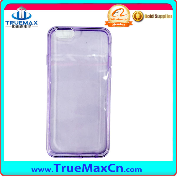 Mobile accessories New products tpu back cover case for iphone 6S case transparent