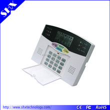 PSTN industrial wireless fire intelligent burglar house alarm system