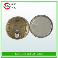 Tinplate Material and Seed,food Use vegetable seed packing #401(99mm) can cover tin easy open end EOE