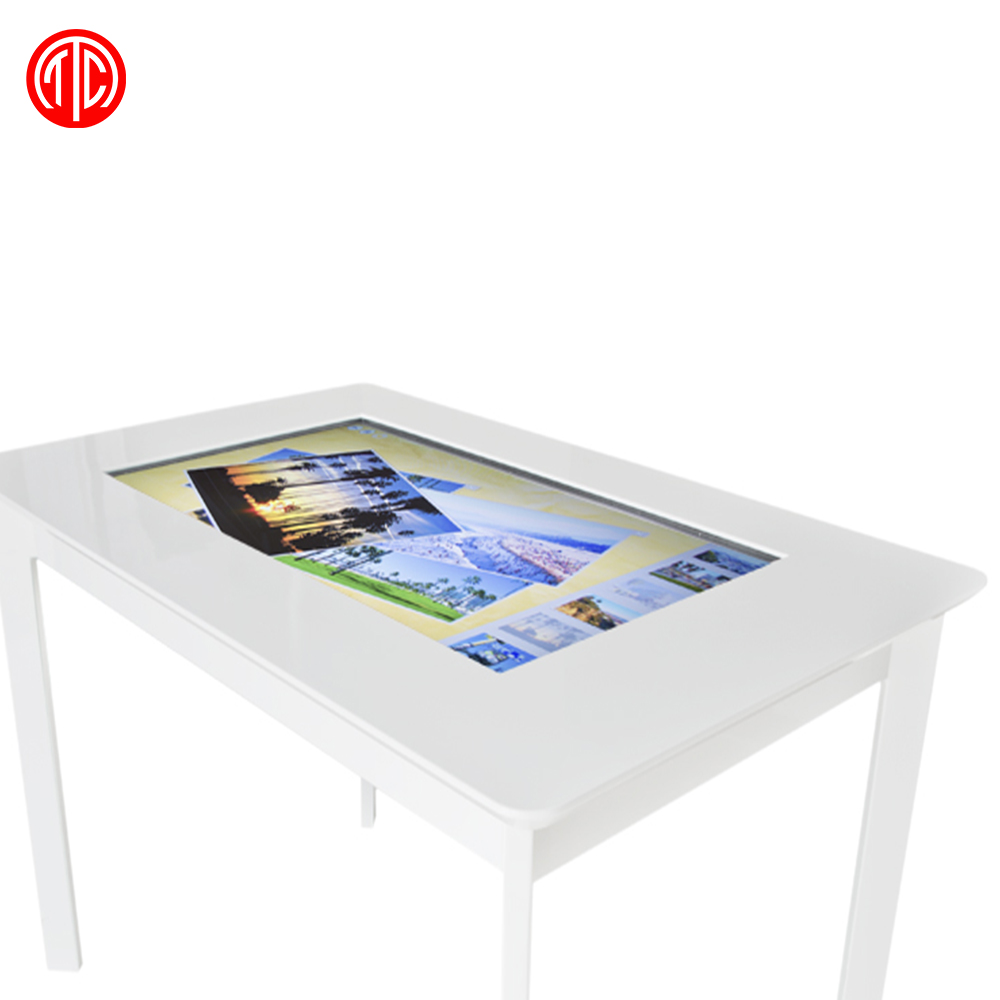 55 multitouch interactive touch screen coffee table with lcd