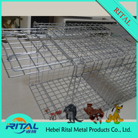 2015 Hot Sale Galvanized Welded Humane Live Mouse Trap Cage