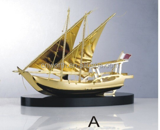 Business Gifts 3D Model Ship Miniatures Individual Package Model Container Ship Top Quality