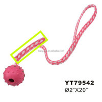 Sex Rubber Funy Ball Shape Pet Toy Manufacturer