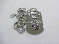 China Supplier Wholesale Blank Stainless Steel Custom Human Dog Tags