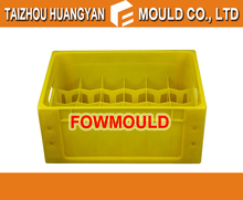 High quality 20 Bottles Beer Crate Injection Mould supplier