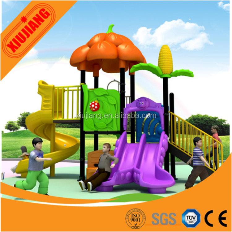 Xiuijiang high quality kids used play houses, kids outdoor playhouse