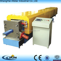 Shanghai Allstar round downspout roll forming machine with elbow machine for sale