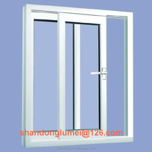 Shandong 88 series ivory pvc window profile with compectitive price