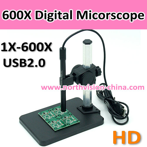 600X high Resolution digital microscope kits