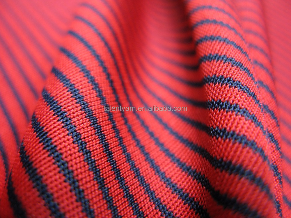 Cooling Summer Striped Functional Fabric for Sportswear (ECO-1064)