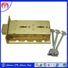 Bronze Material Double Key Deposit Lock For Safe Deposit /Bank Deposit /Vault Deposit